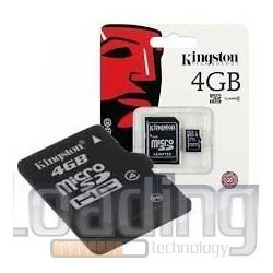 MEMORIA MICROSD 4GB HC...