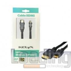 CABLE HDMI 4K 3 MTS MACHO A...